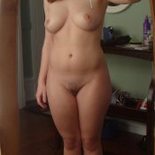 Hot wife of my friend on nude selfie