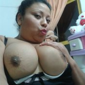 Mexican Milf has big tits