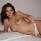 Amazing French MILF nude posing