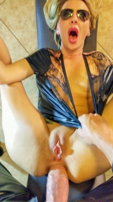 Gorgeous MILF during hardcore anal fucking. Slim MILF gets ass fucked by a large penis