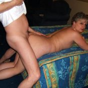 Passionate doggystyle sex with horny MILF