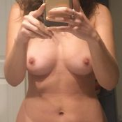 Nude selfie picture of old lady