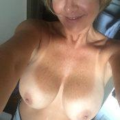 Older mature wife nude selfie