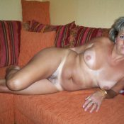 Russian mature with sexy body posing naked