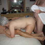 Mature having a steamy double penetration 3some