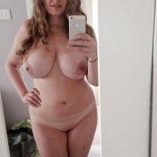 Mature amateur takes nude self shots